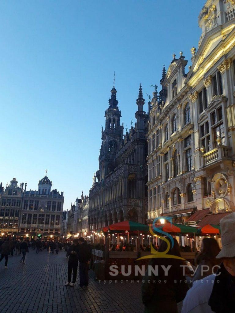 Брюссель достопримечательность